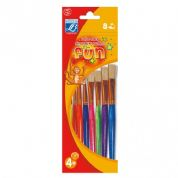 Lefranc Bourgeois Fun Paint Brushes – pack of 8